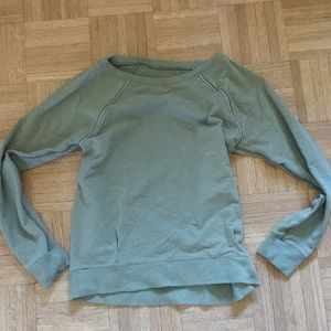 Lululemon Swoop Neck Crew Sweatshirt Size 4